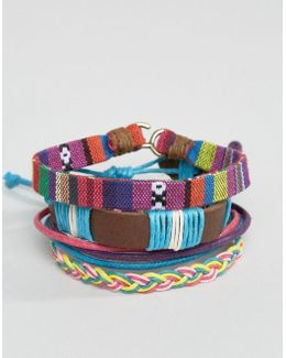 Bracelet Pack In Multi Color