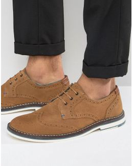 Reith Suede Brogue Shoes