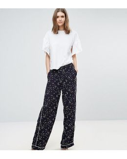 Starling Printed Pipe Edge Pant Co-ord