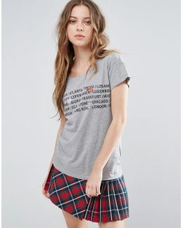 Lippie Printed T-shirt
