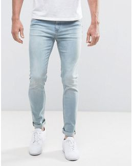 Tight Cure Blue Skinny Jeans