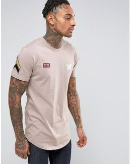 T-shirt With Patch Detail