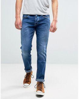 Spencer Straight Fit Jeans Picth Blue Wash Ltd Ed