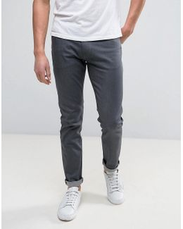 Slim Fit Jeans Grey Rinse