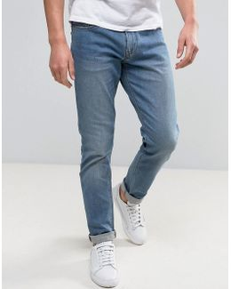 Slim Fit Jeans Light Wash