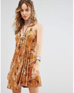 Tropical Daydream Print Dress