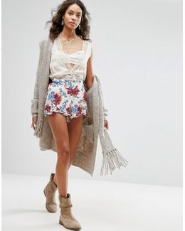 Flutter Printed Shorts