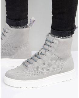 Kamar Suede Hi Top Sneakers