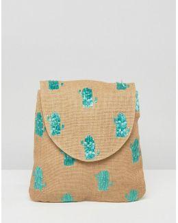 Beach Cactus Backpack