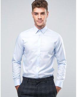 Premium Slim Shirt In 100% Cotton