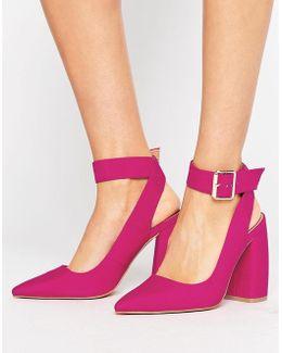 Pina Colada Pointed High Heels