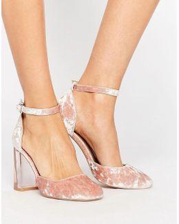Prima Donna Clear Block Heels