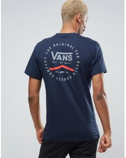 Original Rubber Co T-shirt In Blue Va2xcsnvy
