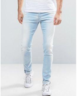 Jondrill Skinny Fit Jeans Sunbleached Wash