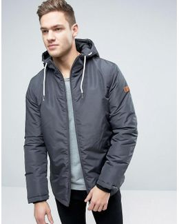 Hooded Parka With Fleece Lining
