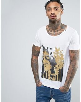 Venice Gold Palms T-shirt