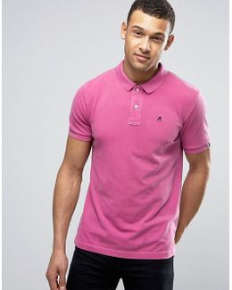 Logo Polo Shirt Short Sleeve