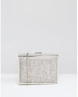 Box Clutch With Stones