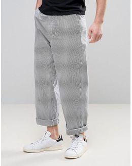Wide Leg Seersucker Pj Pant
