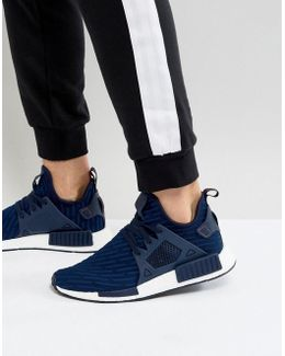 Nmd_xr1 Pk Sneakers In Navy Ba7215