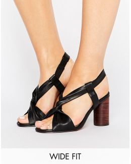 Tallulah Wide Fit Heeled Sandals