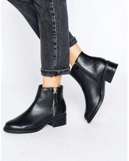 Janice Low Heel Boot