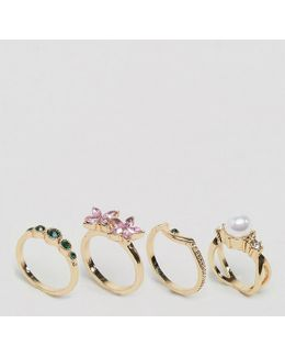 Pretty Garden Ring Pack