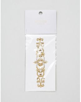 Elaborate Crystal Arm Band
