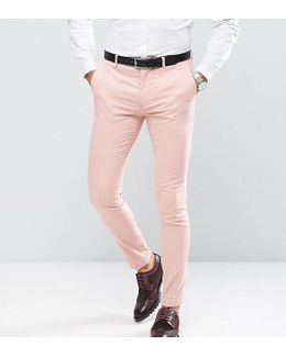 Super Skinny Pants In Cotton Sateen