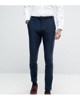 Super Skinny Suit Pants In Jersey