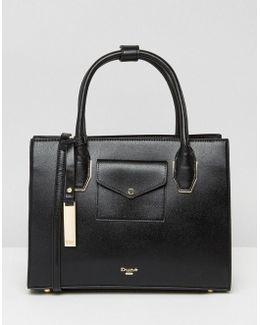 Dertina Tote Bag With Envelope Pocket