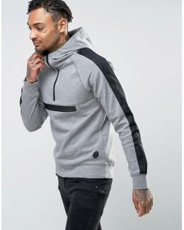 Active Pull Over Hoody With Zip