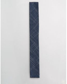 Square Tie In Grid Print