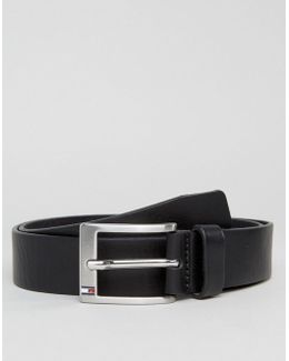 Aly Leather Belt In Black