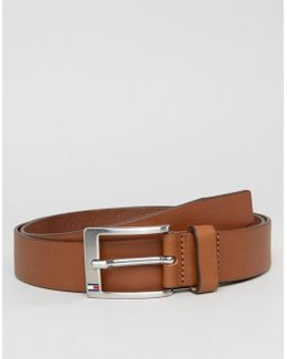 Aly Leather Belt In Tan