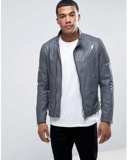 L-mackson Vintage Leather Jacket