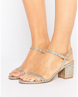 Honeycomb Heeled Sandals
