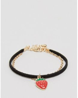 Multirow Strawberry Bracelet