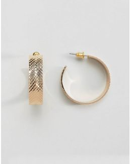 Tyre Hoop Earrings