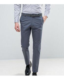Slim Cotton Stretch Suit Pants