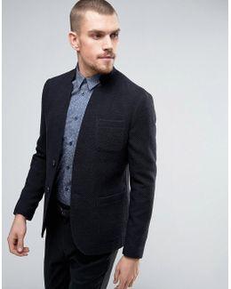 Skinny Knitted Blazer