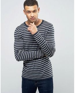 Longline Stripe Knit