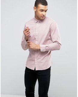 Slim Textured Shirt