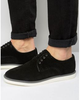 Blow Out Suede Derby Shoes