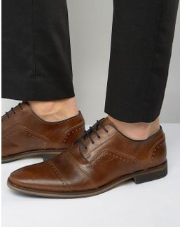 Boycy Leather Derby Brogue Shoes