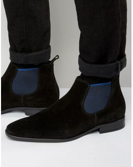 Martime Suede Chelsea Boots