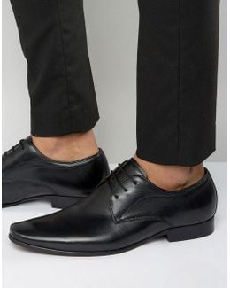 Rayon Leather Derby Shoes