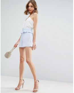 Occasion Ruffle Front Shorts