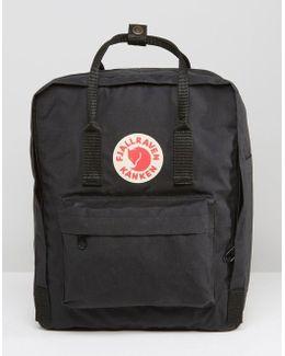 Kanken 16l Backpack Black