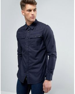 3301 Slim Fit Shirt Long Sleeve